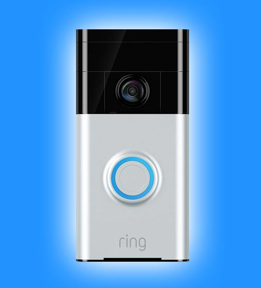 Ring video doorbell camera installation